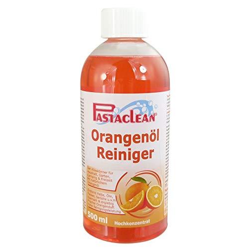 Pastaclean Orangenölreiniger Hochkonzentrat 500ml der Alleskönner für den gesamten Haushalt