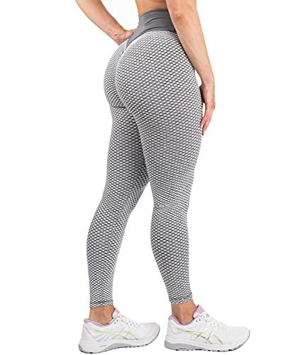 DUROFIT Legging Anti Cellulite Push Up Femme Sexy Taille Hau