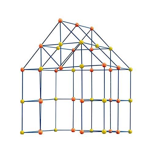 Fort Building Kit para niños, 158 piezas Forts Construction Builder Juguetes de...