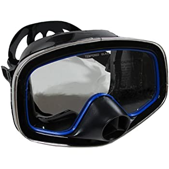 Scuba Choice Scuba Diving Classic Free Dive One-Window Silicone Purged Mask