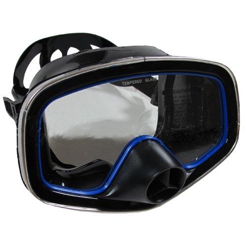 Scuba Choice Scuba Diving Classic Free Dive One-Window Silicone Purged Mask