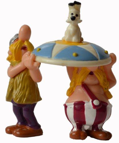 Asterix und die Römer - Figur: Idefix und die Träger - Überraschungseifigur