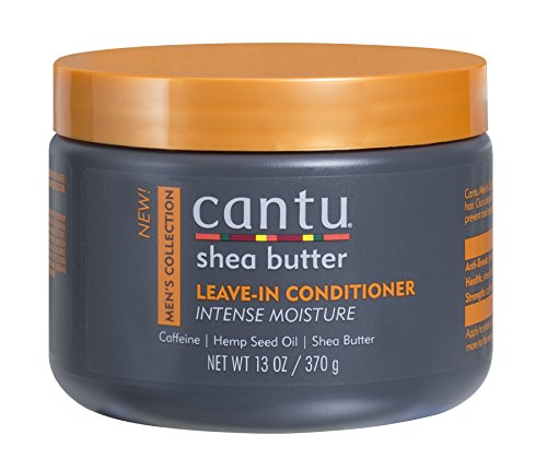 Cantu Shea Butter Men's Collection Leave In Conditioner, 13 Ounce (Pack of 12)
