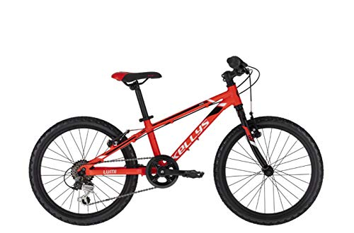 Kellys Lumi 30 20R Kinder Mountain Bike 2020 (25cm, Red)