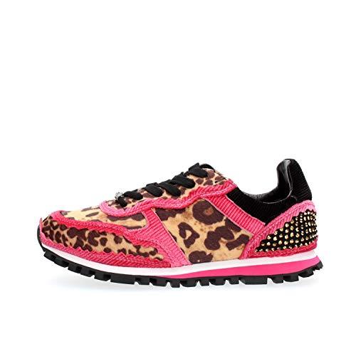 Sneaker Liu Jo Wonder Fuxia BXX049 Taglia 36 - Colore Leopardato