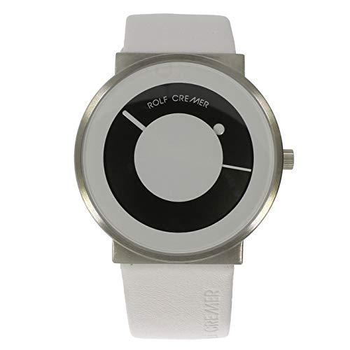 Rolf Cremer Signo 503902 Unisex Armbanduhr weiß