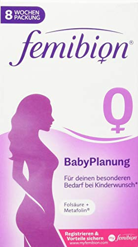 P&G Health Germany FEMIBION 0 Babyplanung Tabletten, 56 Stück