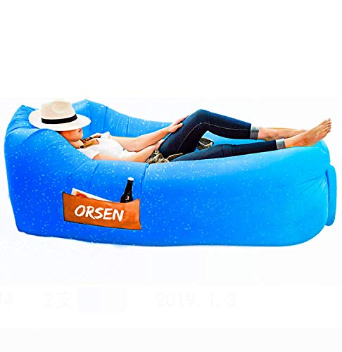 Orsen - Sofá hinchable, azul (ocean)