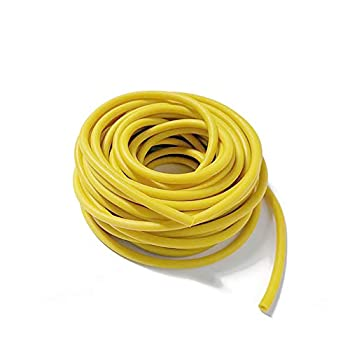 LabZhang Natural Latex Rubber Tubing,10FT Speargun Band Slingshot tubing Catapult Surgical Tube Rubber Hose,latex tubing,0.35  OD 0.24  ID