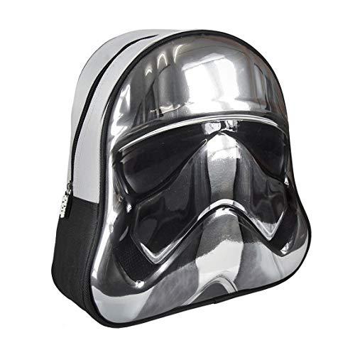 Star Wars Rugzak, meerkleurig, 40 cm, 3D-waterfles van aluminium, 400 ml, lekvrij, BPA-vrij