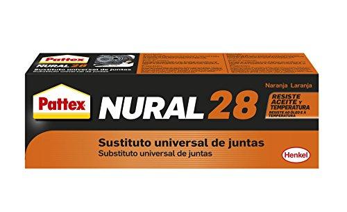 Pattex Nural 28 sustituto universal de juntas, naranja, estuche 40 ml