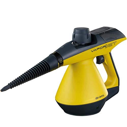 L & WB Stoomreiniger Handheld 3.5 Multipurpose tapijt, reiniging van chemicaliënvrije hogedrukreiniger (9 delen) – verwijdert vlekken, gordijnen, autostoelen, vloeren en ramen