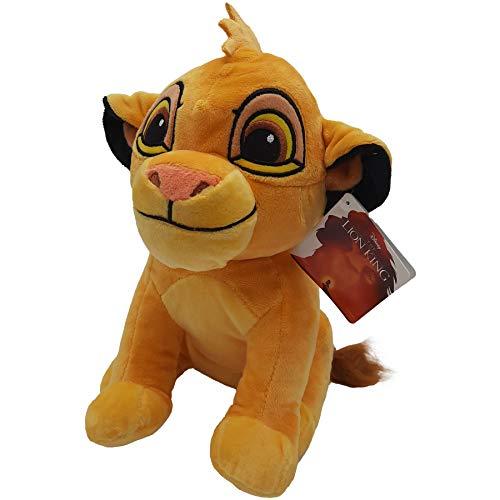 El Rey Leon (The Lion King) - Peluche Leon Simba Joven 11'/28cm Calidad Super...