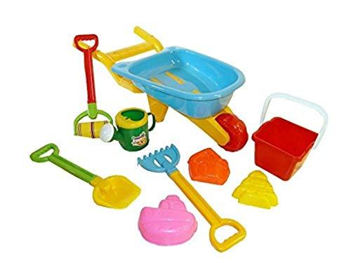 9-partie Box Set Sable jouets Sable voiture de sable jouets pour creuser plage accesiories été B24