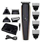 ZCFXGHH Barba Trimmer para los Hombres, Preparación Kit de Teléfono Inalámbrico Condensador de Ajuste del Pelo del Bigote del Condensador de Ajuste Multi-Funcional para