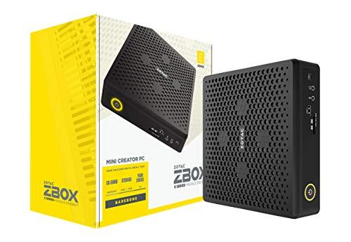 ZOTAC Magnus EN51660T Mini Creator PC GeForce GTX 1660 Ti, Intel Core i5-9300H, Barebones System, ZBOX-EN51660T-U