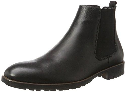 Tamboga Herren DR81 Chelsea Boots, Schwarz (Black), 40 EU