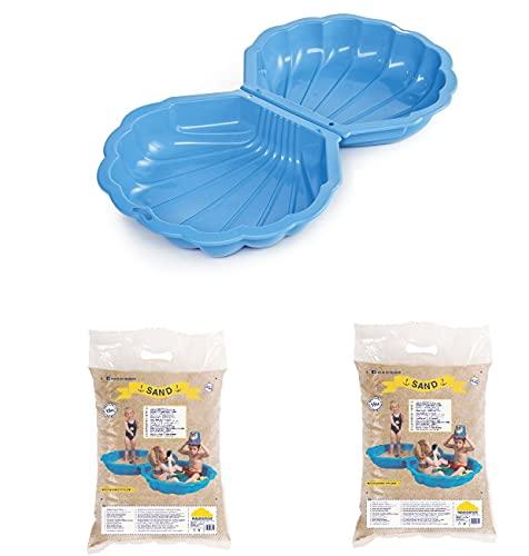 Paradiso Toys Sand/Wassermuschel Blau -...