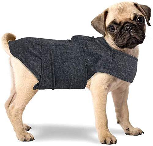 All for Paws Verstellbare Hundejacke gegen Angst, mit Herzschlag und Stressabbau, beruhigender Mantel, funktionelle Hundekleidung, Hunde-Herzschlag, Angstzustände, für Hunde, Größe L