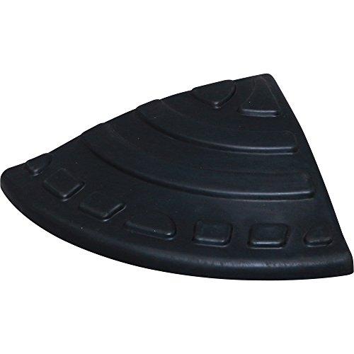 アイリスオーヤマ 段差 スロープ プレート コーナー用 段差 5cm GDP-45C ゴム製 ブラック