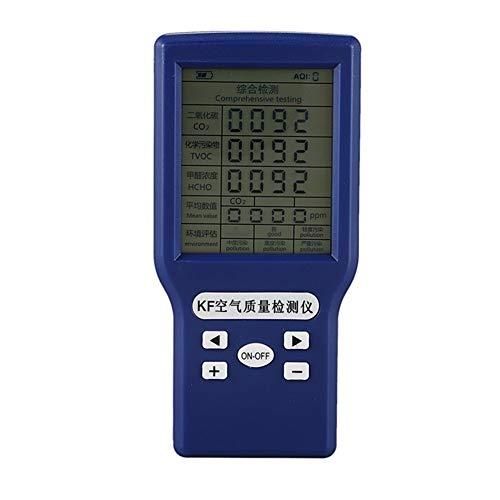 no-branded Tragbare Co2 Ppm Meter Kohlendioxid-Detektor Co2 TVOC HCHO Aqi-Monitor Multi Gas Analyzer vom Hersteller XXYHYQHJD
