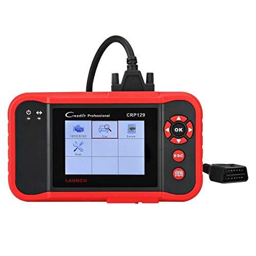 LAUNCH CRP129 OBD2 EOBD Diagnosegerät Fehlercodeleser Code Scanner OBDII Diagnosewerkzeuge, unterstützt Motor ABS SRS EPB SAS Öl Reset, in deutscher Menüeinführung
