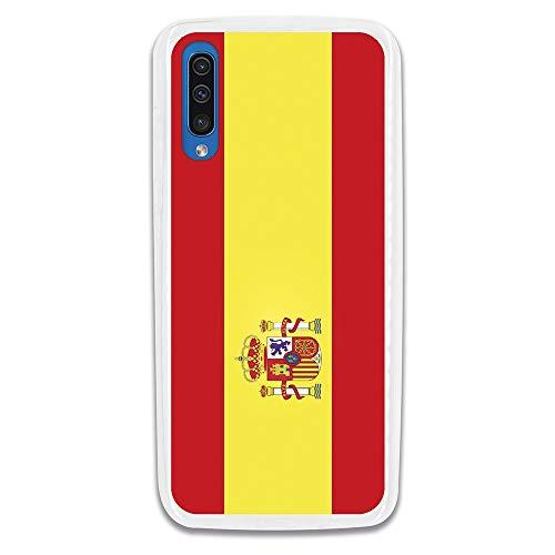 LA CASA DE LAS CARCASAS Funda Bandera España para Samsung Galaxy A70