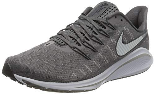 Nike Air Zoom Vomero 14, Running Shoe Hombre, Gunsmoke/White-Oil Grey-Atmosphere Grey, 42.5 EU