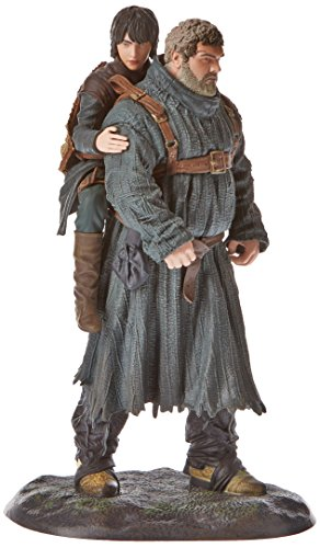 Game of Thrones Réplica Serie TV Hodor y BRAN, Figura 19 cm, Multicolor, Estándar (Dark Horse DKHHBO26340)