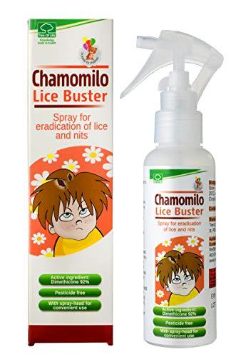 Chamomilo Lice Buster Sprühbehandlung Gegen Kopfläuse und Nissen