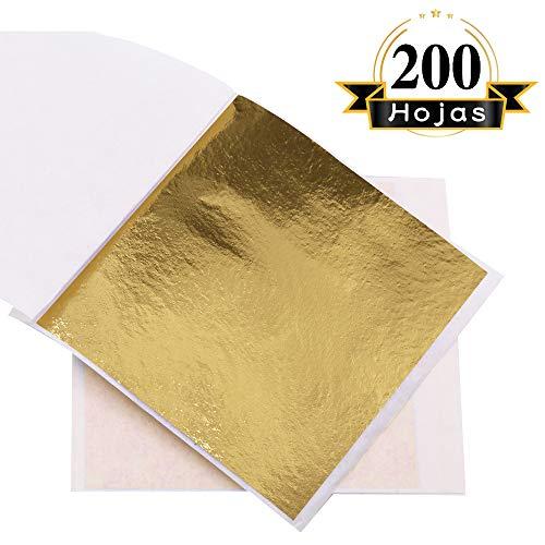 VGSEBA Pan Oro Imitacion Decorativo