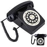 FOLOSAFENAR Señal Estable HD Llamada Robusto teléfono Vintage Botones Grandes, como decoración del hogar