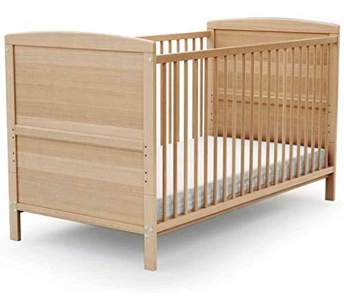 Lit bébé évolutif en bois hêtre Baby Fox 70x140 cm