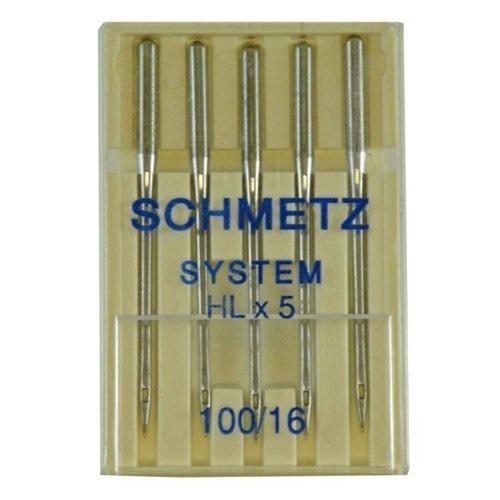 Find Bargain Schmetz HLX5 Quilting Needle 5 Pack - Size 16/100