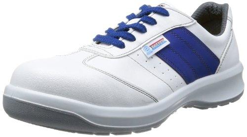 [ミドリ安全] 静電安全靴 エコマーク認定 グリーン購入法適合 スニーカー エコスペック ESG3890 eco 静電 メンズ ホワイト JP 25.0(25cm)