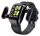 Reloj Inteligente con Bluetooth 5.0 Auriculares, rastreador de...