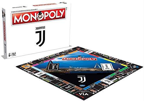 Winning Moves Monopoly Juventus Giochi da Tavolo Classici per Tutti, Multicolore, 5036905035262