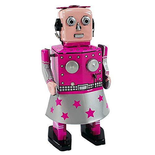 Robot Vénus Rétro Clockwork Robot Jouet Vintage Wind Up Robot Métal Tin Toy Cadeau De Collection