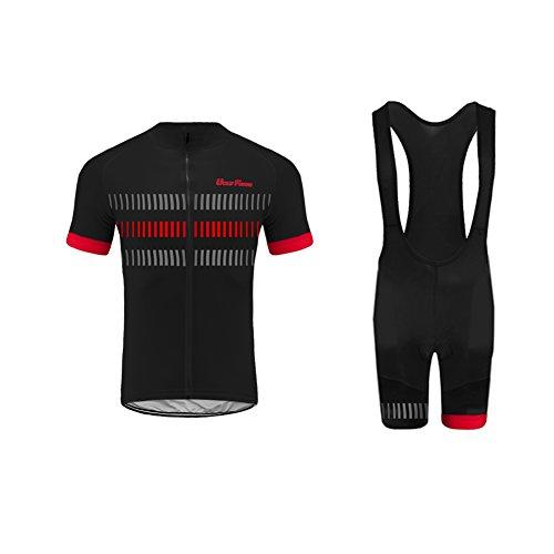UGLY FROG 2021 Neue Radsport Anzüge Herren Short Trikots+Bib Kurze Hosen Gel Pad Summer Cycling Kit Triathlon Clothes DESAZ03