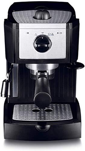Café Espresso máquina de los 15 Bar, Capuchino, Espuma de Leche Espuma, 1100W, Capacidad 1L Bandeja de Goteo extraíble Boquilla de Vapor for la preparación de Bebidas Calientes LMMS