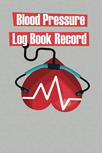 Health Monitor Tracking Blood Pressure: Track your blood pressure throughout the day with this simple log book