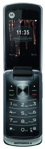 Motorola Gleam Handy (ohne Branding, 6,1 cm (2,4 Zoll) TFT-Display, 2 Megapixel Kamera) grau