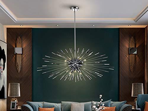 Schuller – Moderne Lampen, Evasion 9 l, Chrom (100 x 100)