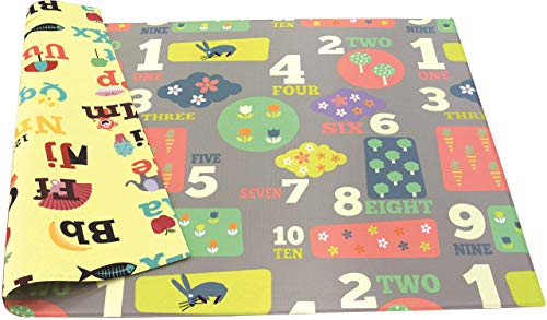 Baby Care Play Mat  Playful Collection Letters amp Numbers Large