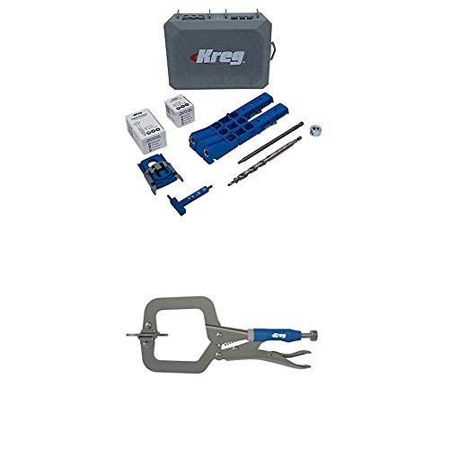 """Kreg Pocket-Hole Jig 320 with 2"""" Face Clamp"""