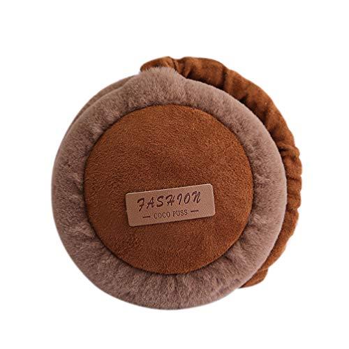 Price comparison product image Unisex Winter Wireless Bluetooth Earphone Warm Earmuffs Music Plush Outdoor Earmuffs