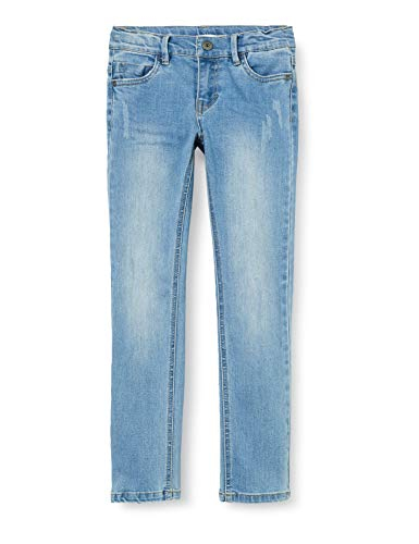 Preisvergleich Produktbild Name IT Jungen Nkmtheo Dnmtrappe 1301 Pant Noos Jeans,  Blau (Light Blue Denim),  134