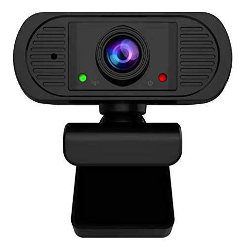 LORIEL Cámara Web Full-HD, Cámara De Computadoras USB De 1080P, con Cámaras Web De Micrófono Dual, para Oficina Remota/Video En Vivo/Videoconferencia/Video Chat