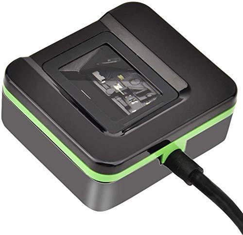 Garsent Lector de Huellas Digitales USB Lector de Huellas Digitales biométrico Escáner Sistema de Asistencia de Control de Acceso para WIN7/WIN8/WIN10/para Windows XP/Vista/Linux/Android