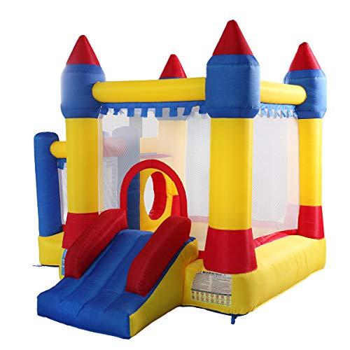 TOBBI Inflatable Bounce House Jumper for Kids,Bouncer Jumping Castle with Slide for Children...